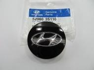 Колпачек колесного диска Hyundai 529603S110 для Санта Фе 4 (Hyundai Santa Fe 2018 - 2019)