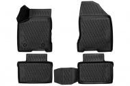 Коврики 3D в салон (черный полиуретан) Format FORMAT.CARLD00001k Lada Vesta 2015-