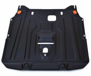 Защита картера (сталь, толщина 2 мм) АЛЬФЕКО ALF2323st для Suzuki SX4 2016 -