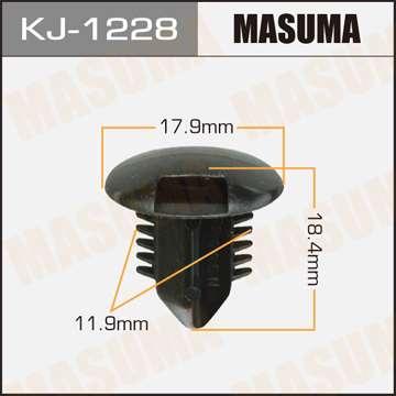Клипса автомобильная (автокрепеж), уп. 50 шт. Masuma KJ-1228