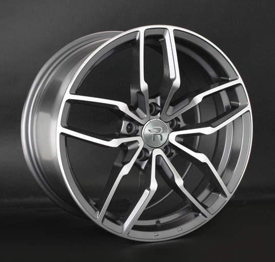 Диск колесный REPLAY LR56 8xR18 5x108 ET45 ЦО63,3 серый глянцевый с полированной лицевой частью 034352-160211014