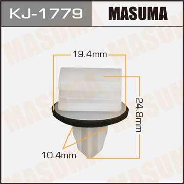 Клипса автомобильная (автокрепеж), уп. 50 шт. Masuma KJ-1779