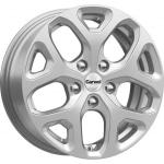 Диск колесный Carwel Аль 174 6.5xR16 5x114.3 ET50 ЦО66.1 серебристый металлик 101759