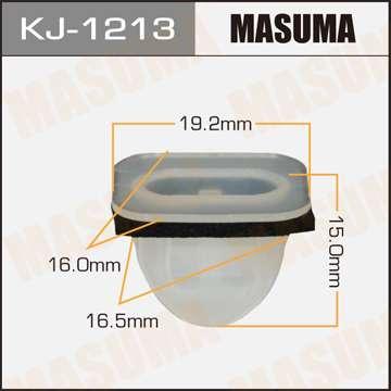 Клипса автомобильная (автокрепеж), уп. 50 шт. Masuma KJ-1213