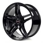 Диск колесный Borbet XRT 8xR17 5x112 ET45 ЦО72,5 чёрный глянцевый 222573