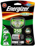 Налобный фонарь Energizer HLE300280603 Vision HD + with 3xAAA, tray