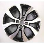 Диск колесный OE BA 6,5xR17 4x100 ET43 ЦО60,1 черный глянцевый с полированной лицевой частью 70932