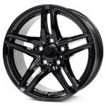 Диск колесный Borbet XR 7xR16 5x120 ET31 ЦО72.5 черный глянцевый 8138561