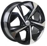 Диск колесный RST R097 7xR17 5x114.3 ET40 ЦО66.1 черный с полированной лицевой частью rd833557