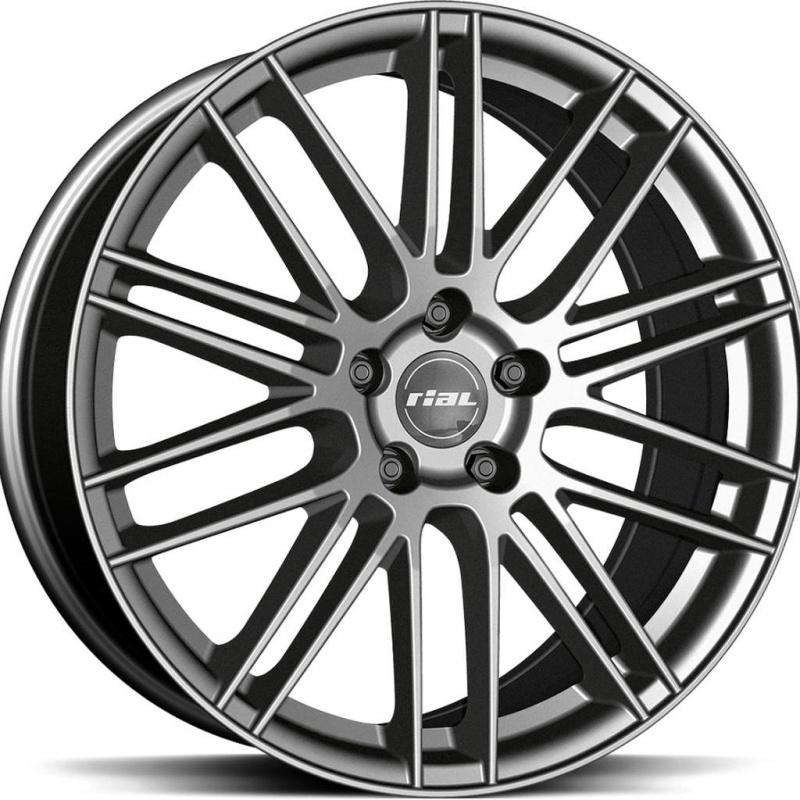 Диск колесный Rial KiboX 9,5xR21 5x112 ET22 ЦО66,5 серый темный KIBX-952122PO17-9