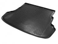 Коврик багажника (полиуретан), чёрный (с докаткой) Rival 15706002 для Toyota RAV4 2015-