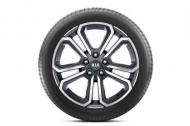 Диск колесный 7,5Jx18 Mobis P2400ADE08BC Kia Sorento 2020-