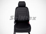 Чехлы на сиденья (экокожа, чёрный) Seintex 87861 Ford Explorer 2010 - 2015