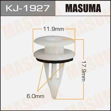 Клипса автомобильная (автокрепеж), уп. 50 шт. Masuma KJ-1927