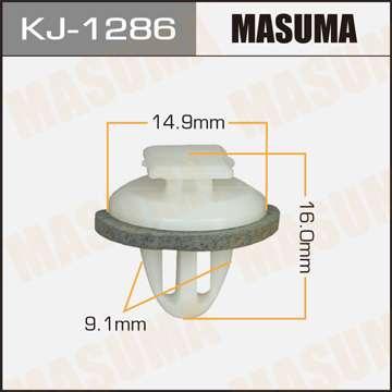 Клипса автомобильная (автокрепеж), уп. 50 шт. Masuma KJ-1286