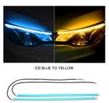 Гибкие ходовые огни 30 см голубые Jogmachine JGMC11.8RY
