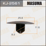 Клипса автомобильная (автокрепеж), уп. 50 шт. Masuma KJ-2561