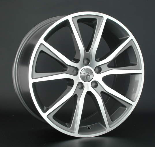 Диск колесный REPLAY FD104 8,5xR20 5x114,3 ET44 ЦО63,3 серый глянцевый с полированной лицевой частью 030112-070132016