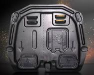 Защита картера и КПП стальная Oshur Yansha OSH1001 Geely Coolray 2020-
