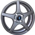 Диск колесный Venti 1 510 6xR15 4x100 ET37 ЦО60.1 серый 00037423