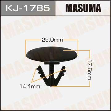 Клипса автомобильная (автокрепеж), уп. 50 шт. Masuma KJ-1785