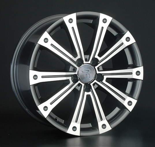 Диск колесный REPLAY MR80 8,5xR18 5x112 ET48 ЦО66,6 серый глянцевый с полированной лицевой частью 014910-040060011