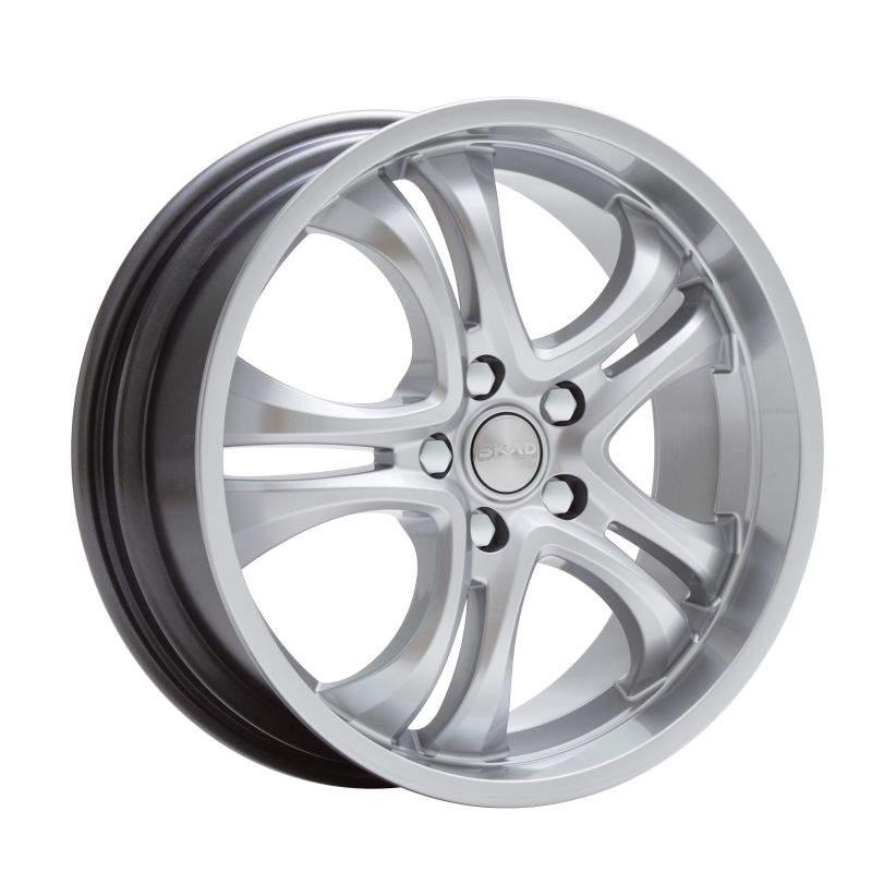 Диск колесный СКАД Версаль 7,5xR18 5x112 ET45 ЦО66,6 серебристый 1870708