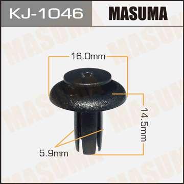 Клипса автомобильная (автокрепеж), 1 шт., Masuma KJ-1046