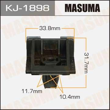 Клипса автомобильная (автокрепеж), уп. 25 шт. Masuma KJ-1898