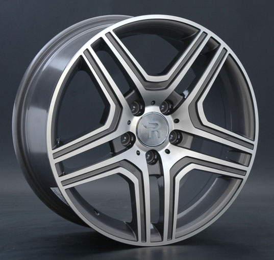 Диск колесный REPLAY MR67 8,5xR19 5x112 ET43 ЦО66,6 серый глянцевый с полированной лицевой частью 017091-160060006