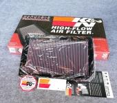 33-2195: Воздушный фильтр K&N 33-2195 для Санта Фе 4 (Hyundai Santa Fe 2018 - 2019) K&N