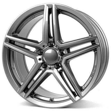 Диск колесный Rial M10 8xR18 5x112 ET38 ЦО66,5 серый темный M10-80838M17-9