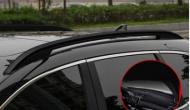 Рейлинги (багажник) на крышу черная для Honda C-RV 2017-