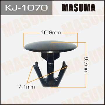 Клипса автомобильная (автокрепеж), 1 шт., Masuma KJ-1070