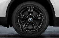 Зимнее колесо в сборе R17 Double Spoke 385 (Bridgestone Blizzak LM001 RFT (RSC) 36112409013 для BMW X1 (F48) 2015-