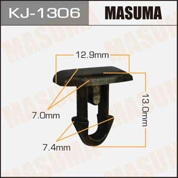 Клипса автомобильная (автокрепеж), уп. 50 шт. Masuma KJ-1306