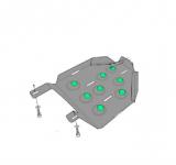 PT.435: Защита топливного бака стальная Патриот PT.435 для KIA Sportage IV 2016 - Патриот