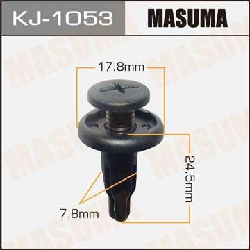 Клипса автомобильная (автокрепеж), 1 шт., Masuma KJ-1053