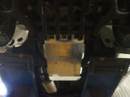 Защита КПП и РК, алюминий (V-2,0 TD, КПП - все) АВС-Дизайн 26.07ABC Volkswagen Amarok (1G) 2010-