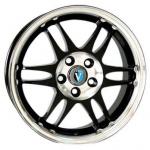 Диск колесный Venti 1702 7xR17 5x114.3 ET38 ЦО67.1 чёрный с полированной лицевой частью rd831867