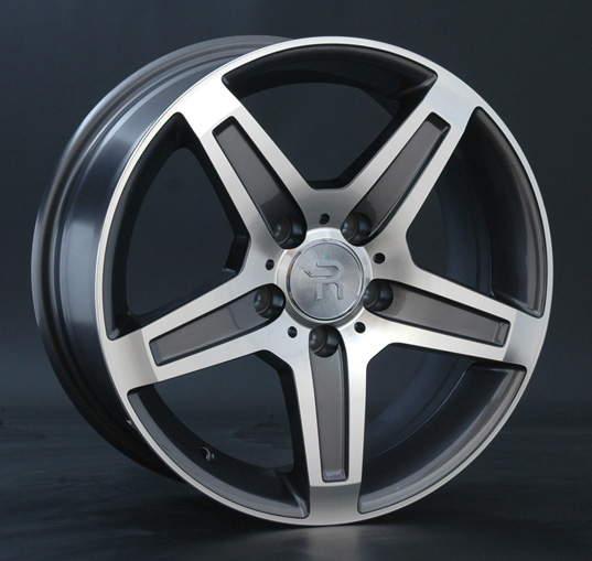 Диск колесный REPLAY MR71 8xR17 5x112 ET38 ЦО66,6 серый глянцевый с полированной лицевой частью 020752-160060006