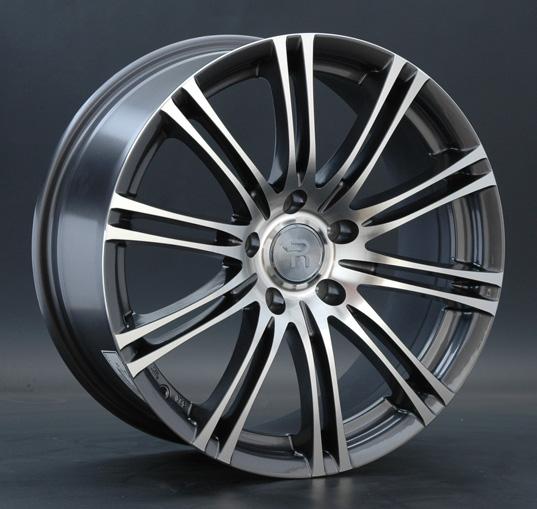Диск колесный REPLAY B91 7,5xR17 5x120 ET34 ЦО72,6 серый глянцевый с полированной лицевой частью 000454-160023001
