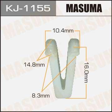 Клипса автомобильная (автокрепеж), уп. 50 шт. Masuma KJ-1155