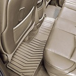 Коврики салона задние (резиновые, Dune) 22858831 для Chevrolet Tahoe IV 2015-