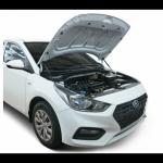 Упоры капота АвтоУпор UHYSOL021 для Hyundai Solaris 2017 -
