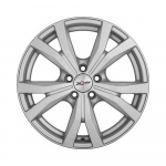 Диск колесный X'trike X-119 6.5xR16 5x114.3 ЕТ45 ЦО67.1 насыщенно серебристый 29098