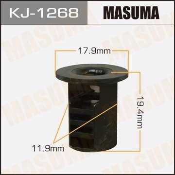 Клипса автомобильная (автокрепеж), уп. 50 шт. Masuma KJ-1268