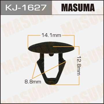 Клипса автомобильная (автокрепеж), уп. 50 шт. Masuma KJ-1627