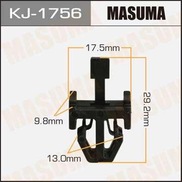 Клипса автомобильная (автокрепеж), уп. 50 шт. Masuma KJ-1756