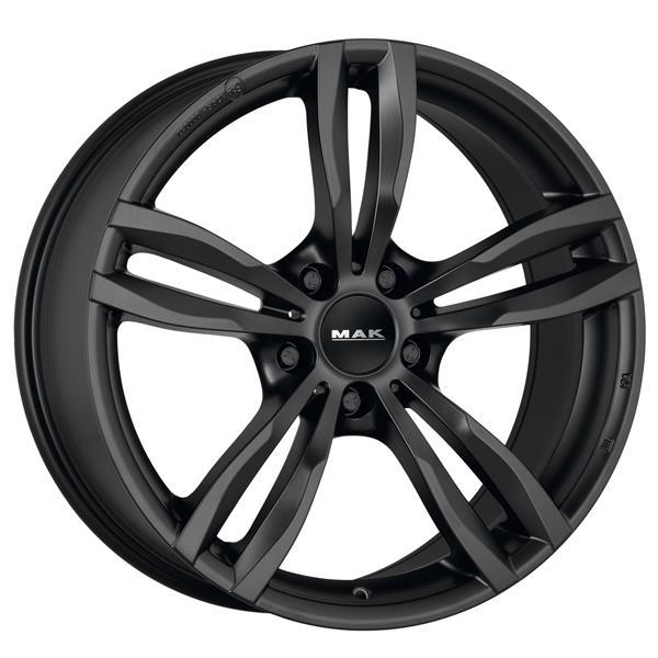 Диск колесный MAK Luft 8xR19 5x120 ET37 ЦО72,6 черный матовый F8090LFMB37I3BX